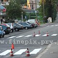 Malowanie pasów #auta #Chorzów #malowanie #pachołki #pasów #pasy #samochody #słupki #ulica #zyzio