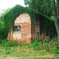 Głusiec - dziwny budynek #Głusiec #zabytek #zbytki #ruina #ruiny
