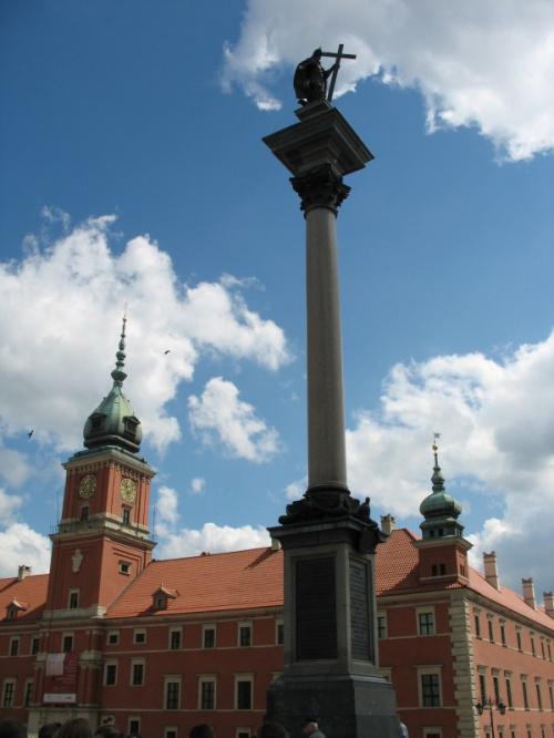 Kolumna Zygmunta III Wazy #KolumnaZyguntaIIIWazy #wycieczka #Warszawa #widok #zabytki #ZamekKrólewski