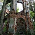 Ambona myśliwska - ruiny #miasto #park #Warszawa #Morysin #Wilanów