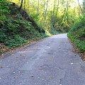 Droga z Parchatki do Zbędowic #droga #szosa #Zbędowice