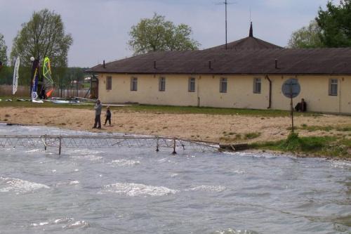 Powidz - Łazienki latem