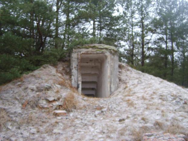 bunkier - -jednostka wojskowa - wilkocin