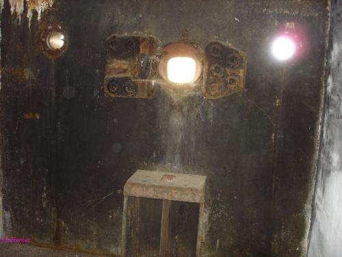 Izba bojowa w Regelbau 107a #Regelbau107a