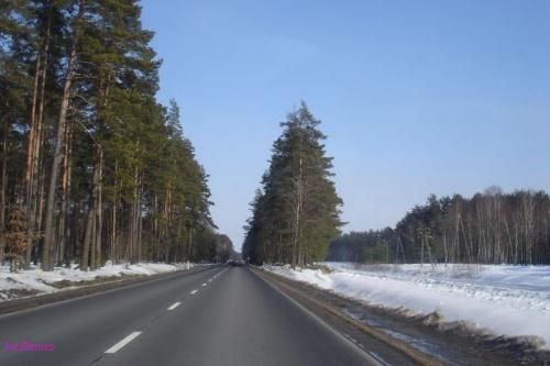 Droga Pisz - Ruciane