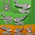 Zajączek dla Marigold19 :). #królik #króliczek #maskotka #szydełko #crocheted