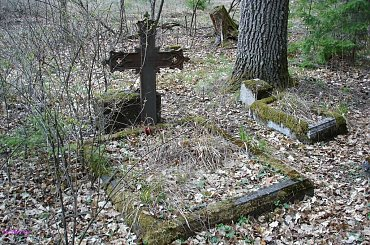 Wejsuny - nieczynny cmentarz ewangelicki