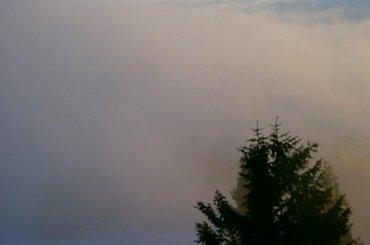 Gorce-Turbacz wschód słońca