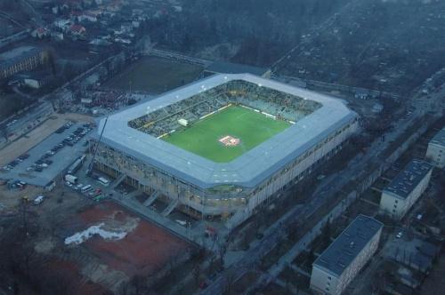 Stadion Korony (foto6) z lotu ptaka. #KoronaKielceKolporterStadion