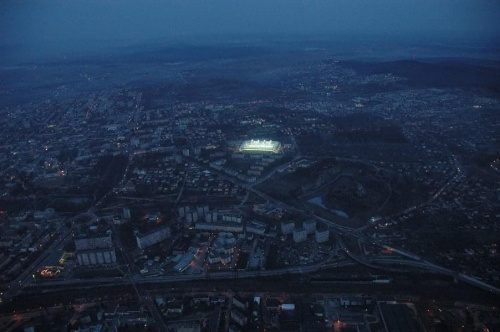 Stadion Korony (foto4) z lotu ptaka. #KoronaKielceKolporterStadion