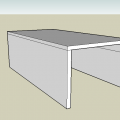 Prerendery boxa robionego na wzór ławki ze stołem #skatepark #box #ławka #stół #prerender #render
